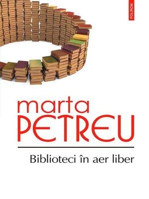 cover image of Biblioteci în aer liber