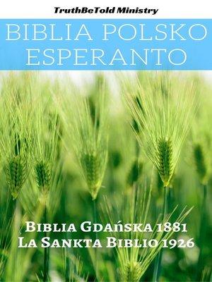 cover image of Biblia Polsko Esperanto