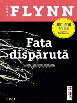 cover image of Fata dispărută
