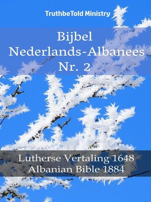 cover image of Bijbel Nederlands-Albanees Nr. 2