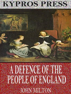 cover image of A Defence of the People of England