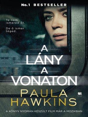 cover image of A lány a vonaton - filmes borítóval
