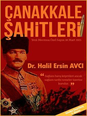 cover image of Çanakkale Şahitleri