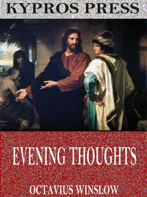 cover image of Evening Thoughts