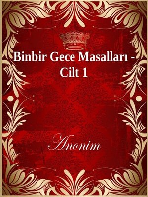 cover image of Binbir Gece Masalları - Cilt 1