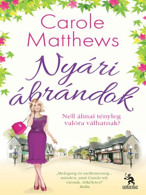 cover image of Nyári ábrándok
