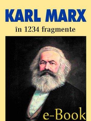 cover image of Karl Marx în 1234 de fragmente alese de Ion Ianoși