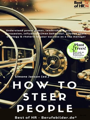 cover image of How to Steer People