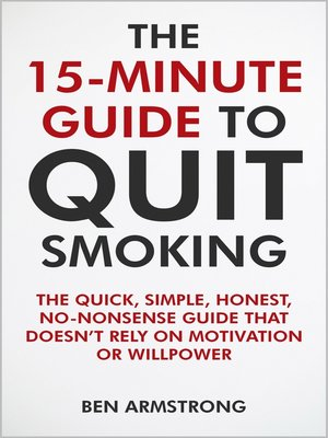 cover image of The 15-Minute Guide to Quit Smoking
