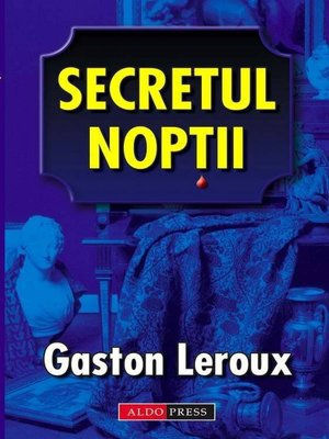 cover image of Secretul noptii