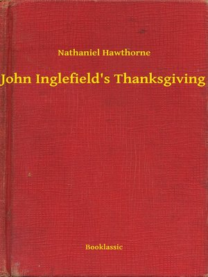 cover image of John Inglefield's Thanksgiving