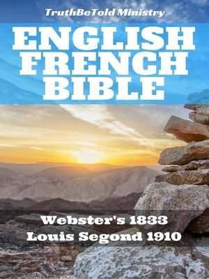 cover image of English French Bible