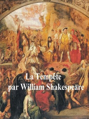 cover image of Shakespeare's Tempest in French