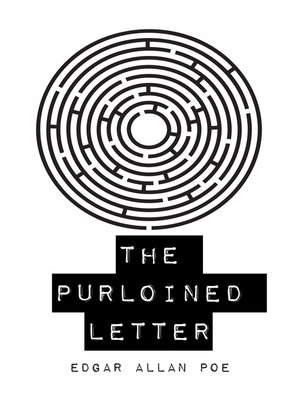 cover image of The Purloined Letter