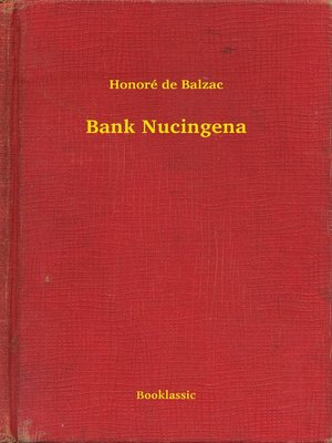 cover image of Bank Nucingena