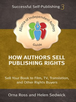 cover image of How Authors Sell Publishing Rights