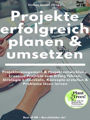 cover image of Projekte erfolgreich planen & umsetzen
