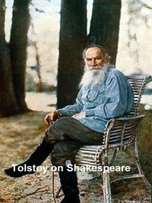 cover image of Tolstoy on Shakespeare