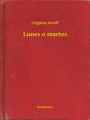 cover image of Lunes o martes