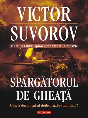 cover image of Spărgătorul de gheaţă
