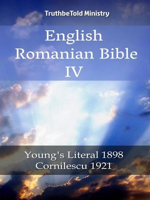 cover image of English Romanian Bible IV