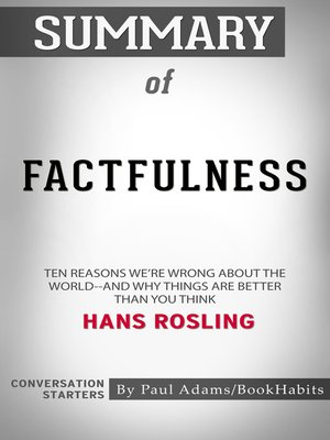 cover image of Summary of Factfulness