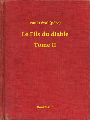 cover image of Le Fils du diable – Tome II