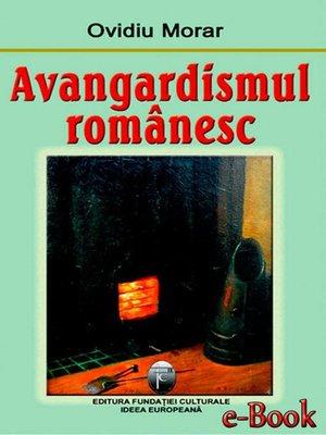 cover image of Avangardismul românesc