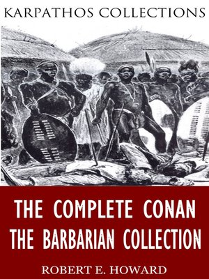 cover image of The Complete Conan the Barbarian Collection