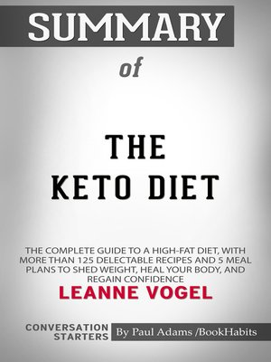 cover image of Summary of the Keto Diet
