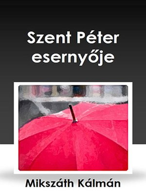 cover image of Szent Péter esernyője