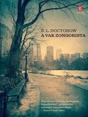 cover image of A vak zongorista