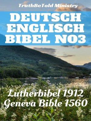 cover image of Deutsch Englisch Bibel No3