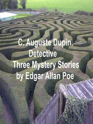 cover image of C. Auguste Dupin, Detective