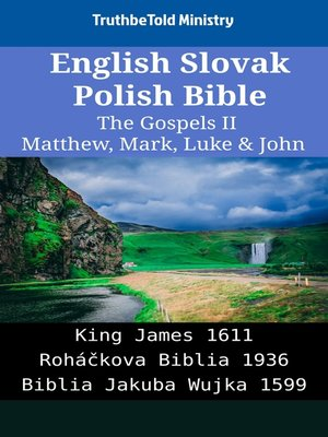 cover image of English Slovak Polish Bible--The Gospels II--Matthew, Mark, Luke & John