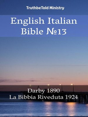 cover image of English Italian Bible №13