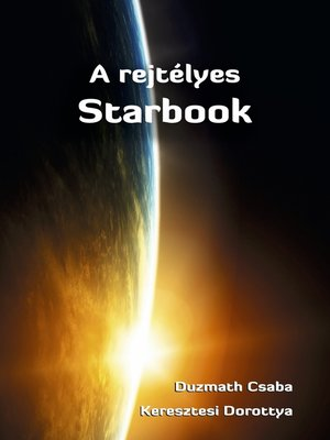 cover image of A rejtélyes Starbook