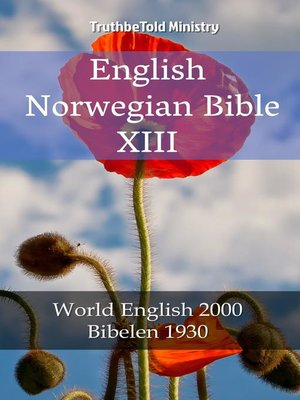 cover image of English Norwegian Bible XIII