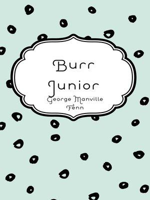 cover image of Burr Junior