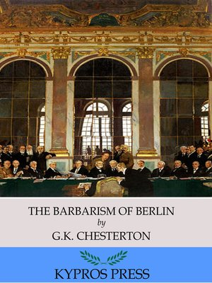 cover image of The Barbarism of Berlin