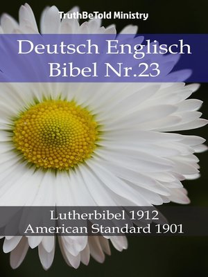 cover image of Deutsch Englisch Bibel Nr.23
