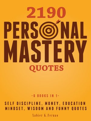 cover image of 2190 Personal Mastery Quotes