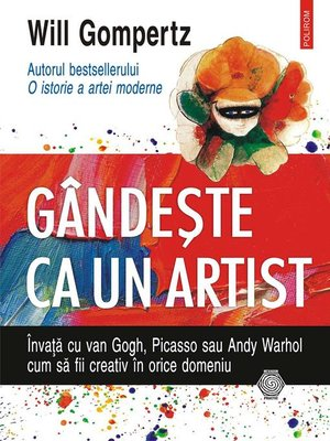 cover image of Gândeşte ca un artist