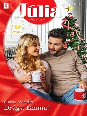 cover image of Drága Emma!