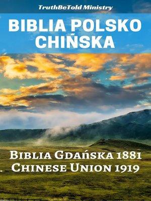 cover image of Biblia Polsko Chińska