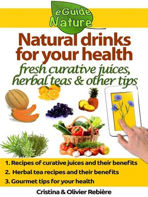 cover image of Natural drinks for your health
