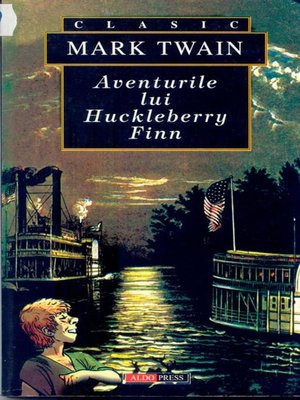 cover image of Aventurile lui Huckleberry Finn