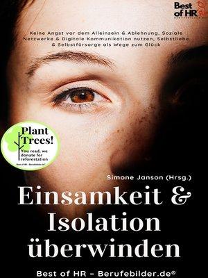 cover image of Einsamkeit & Isolation überwinden