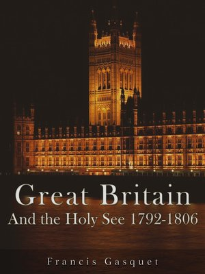 cover image of Great Britain and the Holy See 1792-1806
