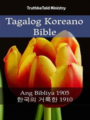 cover image of Tagalog Koreano Bible